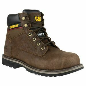 Caterpillar Electric Hi Safety Boots (Brown)