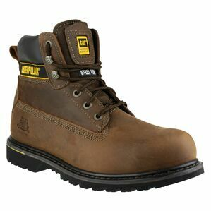 Caterpillar Holton Lace Up Work Boots (Brown)