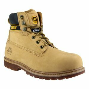 Caterpillar Holton Lace Up Safety Boots (Honey)