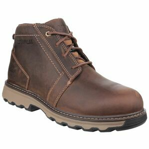 Caterpillar Parker Safety Boots (Dark Beige)