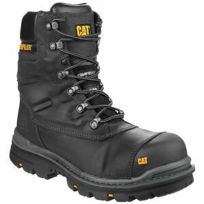 Caterpillar Premier Waterproof Safety Boots (Black)