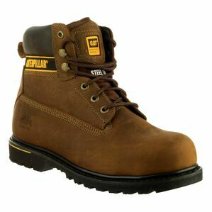 Caterpillar Holton Safety Boots (Brown)