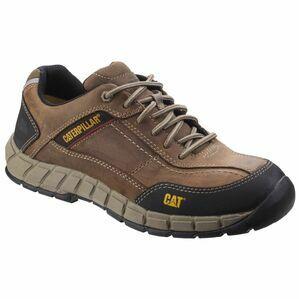 Caterpillar Streamline Leather Safety Shoe (Brown)