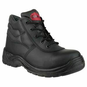 Centek FS30C Lace-up Safety Boots (Black)