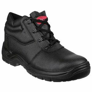 Centek FS330 Lace-Up Leather Boots - Black
