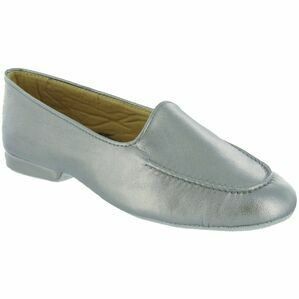 Fornells Ladies Slipper in Pewter