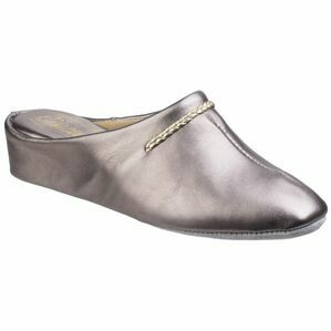 Galdana Ladies Slipper in Pewter