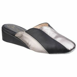 Madeira Ladies Slipper in Black