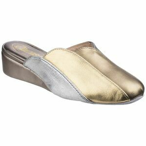 Madeira Ladies Slipper in Pewter