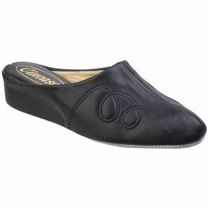 Mahon Ladies Slipper in Black