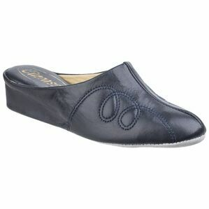 Mahon Ladies Slipper in Navy