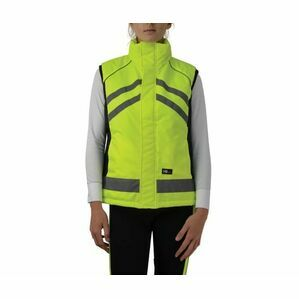 Hi Vis High Visibility Padded Gilet - Yellow