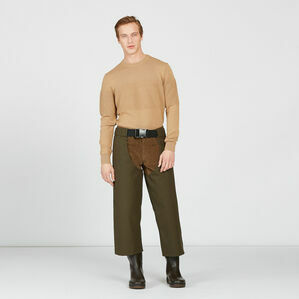 Aigle Courtal Waterproof Over Trousers - Brown