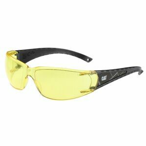 Caterpillar Blaze Safety Glasses - Yellow