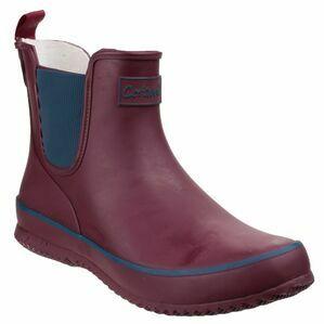 Cotswold Bushy Wellington Boots (Wine)