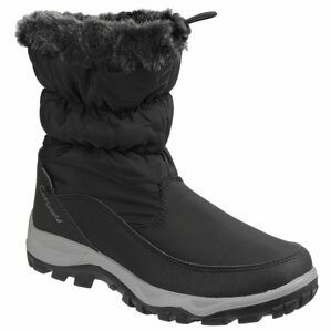 Cotswold Frost Waterproof Pull On Snow Boots (Black)