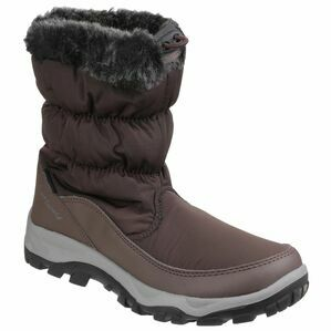 Cotswold Frost Waterproof Pull On Snow Boots (Brown)
