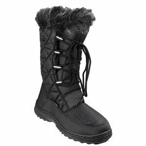 Cotswold Gale Snow Boots (Black)