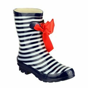 Cotswold Gatcombe Ribbon Wellington Boots (Stripe)
