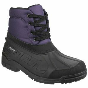 Cotswold Leoni Lace Up Canadian Boots (Purple)