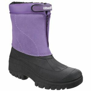 Cotswold Venture Waterproof Winter Boots (Purple)