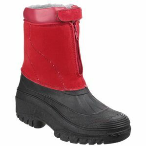Cotswold Venture Waterproof Winter Boots (Red)