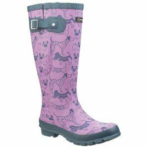 Cotswold Windsor Print Wellington Boots - Dog