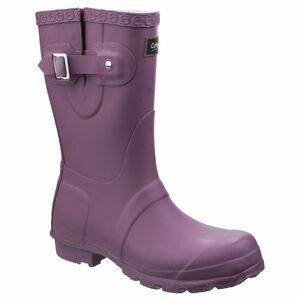 Cotswold Windsor Short Wellington Boots - Purple