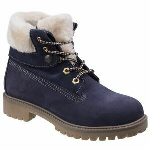 Darkwood Walnut Casual Boots - Navy