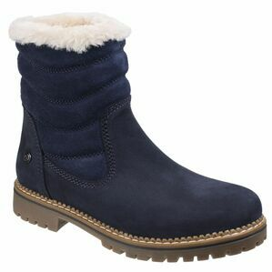 Darkwood Rosewood Casual Boots - Navy