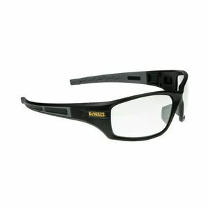 DeWalt Auger Safety Eyewear in Black/Clear