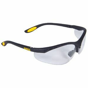 DeWalt Reinforcer Safety Eyewe in Black/Clear/Yellow