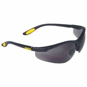 DeWalt Reinforcer Safety Eyewe in Black/Charchoal/Yellow