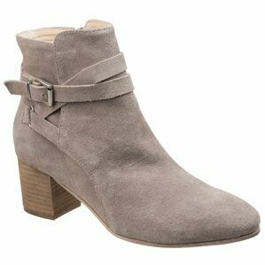 Arianna Ankle Boot With Heels in Taupe