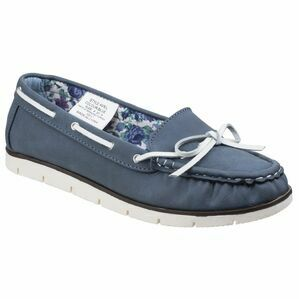 Avril Women's Blue Boat Shoe