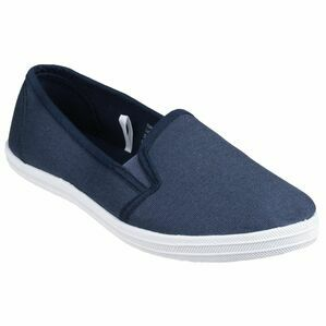 Garland Slip On Summer Pump in Navy