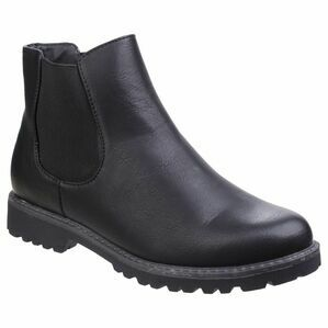 Grace Ladies Chelsea Boot in Black
