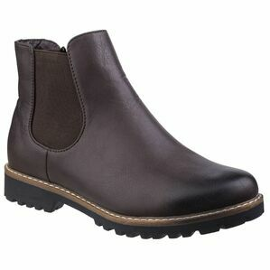 Grace Ladies Chelsea Boot in Brown