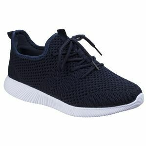 Heidi Knit Shoe in Navy