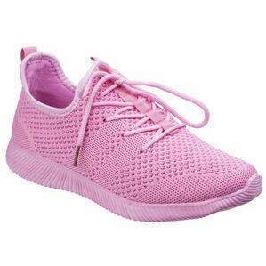 Heidi Knit Shoe in Pink