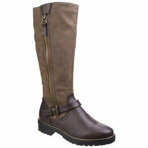 Manson Tall Boot in Brown