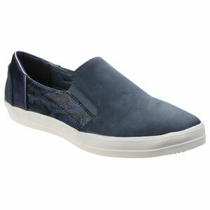 Minaj Casual Slip On Shoe in Blue