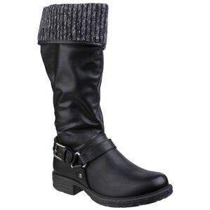 Monroe Tall Boot in Black