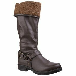 Monroe Tall Boot in Brown