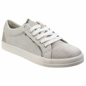 Rhianna Ladies Casual Lace Up  in Grey