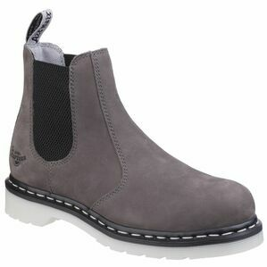 Dr Martens Arbor ST Ladies Chelsea Work Boots - Grey Wind River