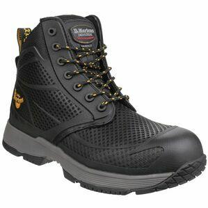 Dr Martens Calamus S1P Non-Metallic Lace Boots (Black)