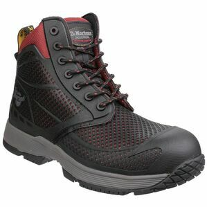 Dr Martens Calamus S1P Non-Metallic Lace Boots (Oxblood)