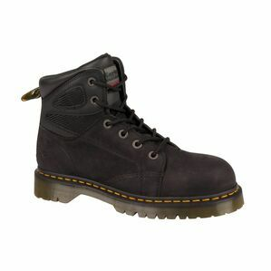 Dr Martens Fairleigh ST 6 Eye Lace up Safety Boots (Black)