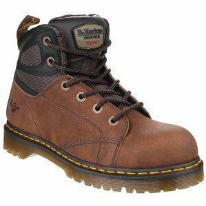Dr Martens Fairleigh ST 6 Eye Lace Up Safety Boots (Brown)
